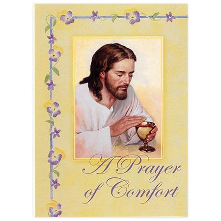 Sympathy Mass Card: Prayer of Comfort