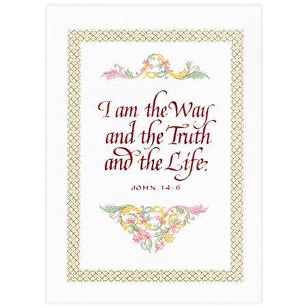 Intentions Mass Card: I Am The Way