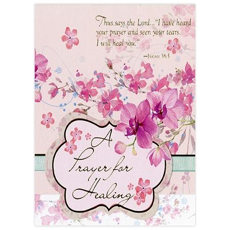 Lourdes Healing Card