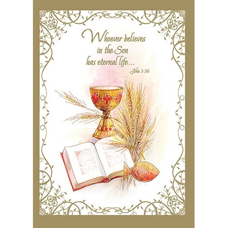 Sympathy Mass Card: Belief in the Son